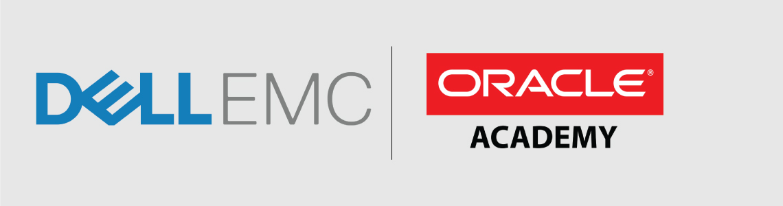 Alpha Group of Institutions Industry and Academic partners are Dell EMC and Oracle Academy